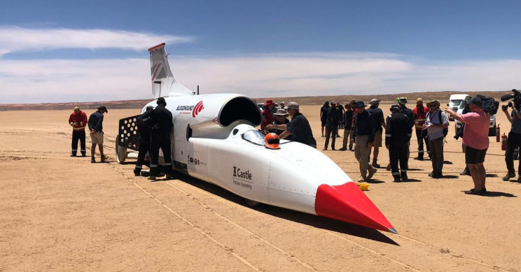 bloodhound-lsr-new-record
